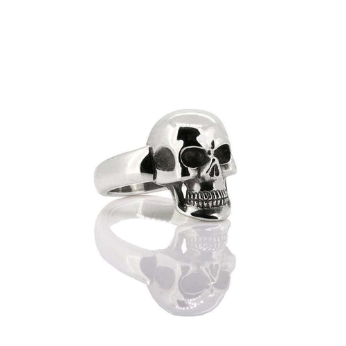 Full Skull Ring, Small-deVos Jewellery-JewelStreet US