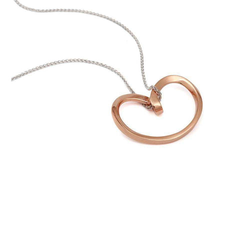 18kt Rose Gold Isabella Pendant-September Rose-JewelStreet US
