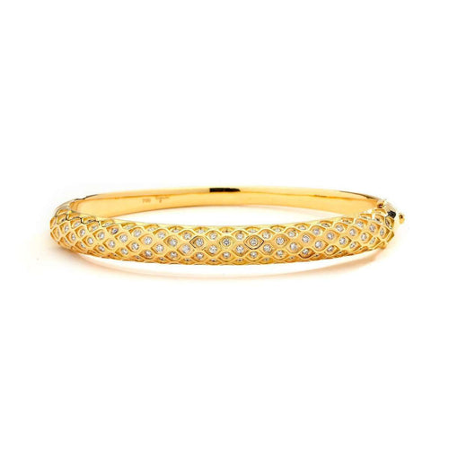 18kt Mogul Bracelet With Diamonds-Syna-JewelStreet US
