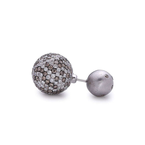 Mystic Diamond Ball Earring-Socheec-JewelStreet US