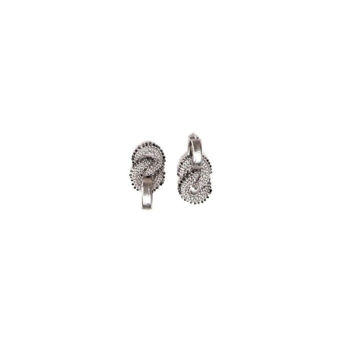 Goddess Link Twist Earrings-Tove Rygg-JewelStreet US