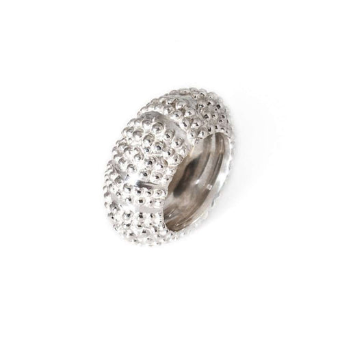 Silver Oursin Ring-Flavie Michou-JewelStreet US