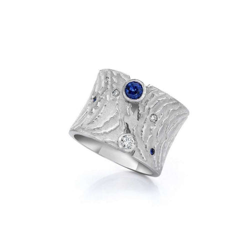 Waves Ring-LJD Designs-JewelStreet US