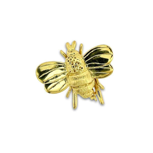 Gold Vermeil Bumble Bee Brooch-Brooches-Will Bishop-JewelStreet