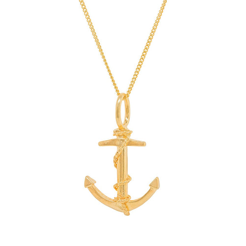 Anchor Gold Plated Charm-Katie Mullally-JewelStreet US