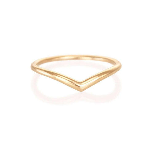 Gold Archer Ring-Katrina LaPenne-JewelStreet US
