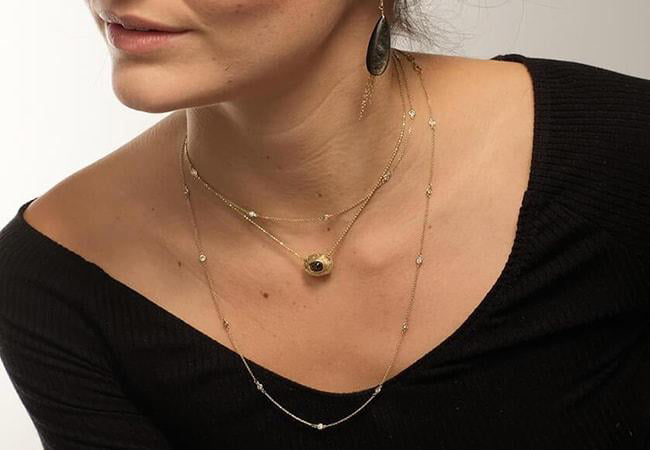 Your Easy Guide to Wearing Layered NecklacesREAD MORE