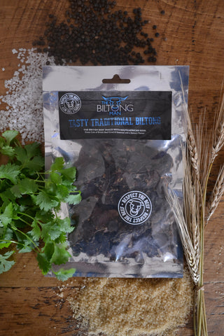 Tasty Traditional Biltong - Full Fat