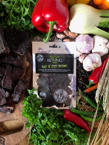 WAREHOUSE DEAL<br> Nice 'n' Spicy Biltong 50g