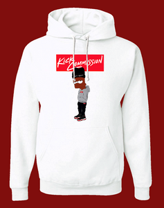 "Bart Pullover Hoodie ""White"""