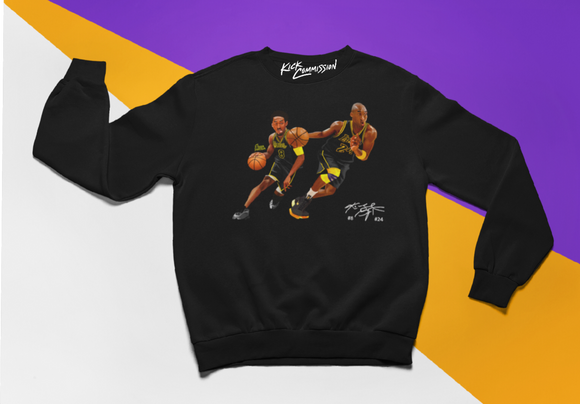 8 v 24 Mamba Day Crewneck