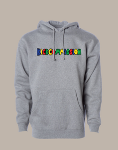 """Super KC"" Pullover Hoodie Grey"