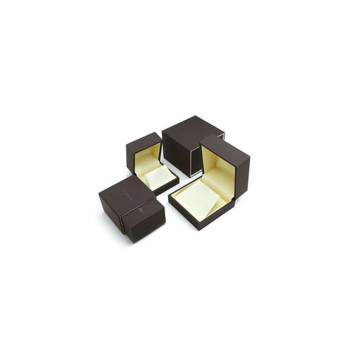 18kt 925 Yellow Diamonds and Black Onyx Cufflinks-Syna-JewelStreet EU