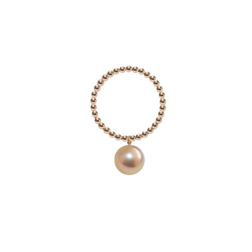 Orb Ring - Gold Pearl-Rings-ORA Pearls-JewelStreet