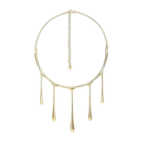 5 Drip Necklace-Necklaces-Lucy Quartermaine-JewelStreet