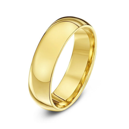 9kt Yellow Gold Extra Heavy Court Shape Wedding Ring ,[product vendor],JewelStreet