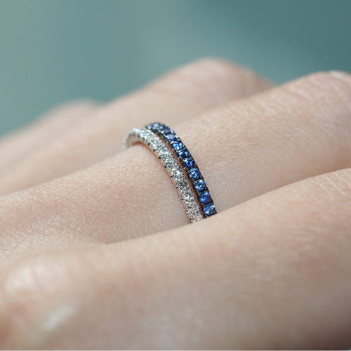 Blue and White Pair ,[product vendor],JewelStreet