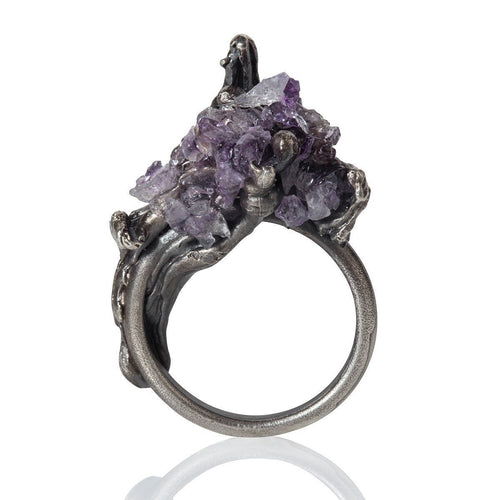 Cascade Ring Amethyst ,[product vendor],JewelStreet
