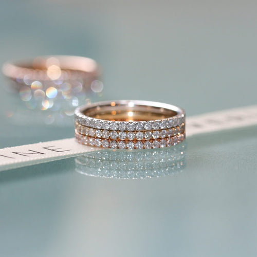 Diamond Trilogy 3-Ring Combination ,[product vendor],JewelStreet