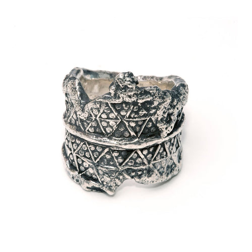 Sterling Silver Paganus Ring ,[product vendor],JewelStreet