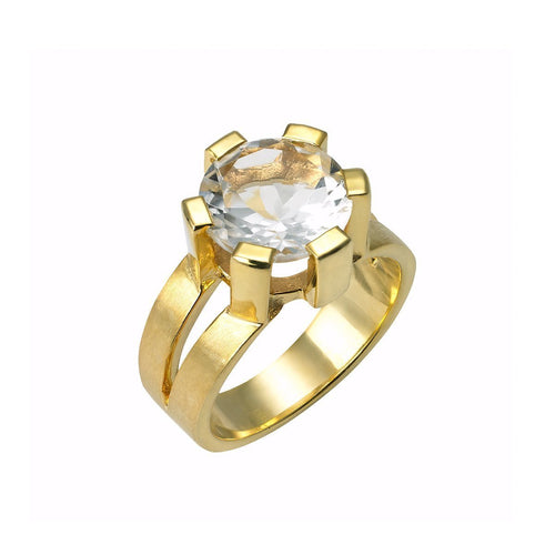 Scandi Rock Crystal Ring ,[product vendor],JewelStreet