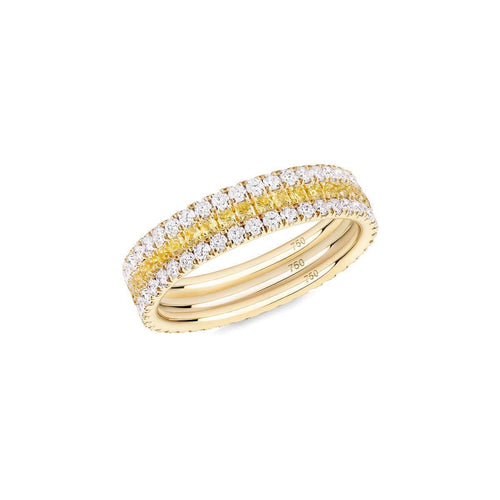 Yellowfine 3-Ring Combination ,[product vendor],JewelStreet