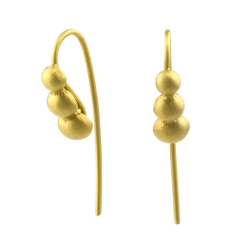 9kt Gold Sulis Earrings-Prism Design-JewelStreet EU
