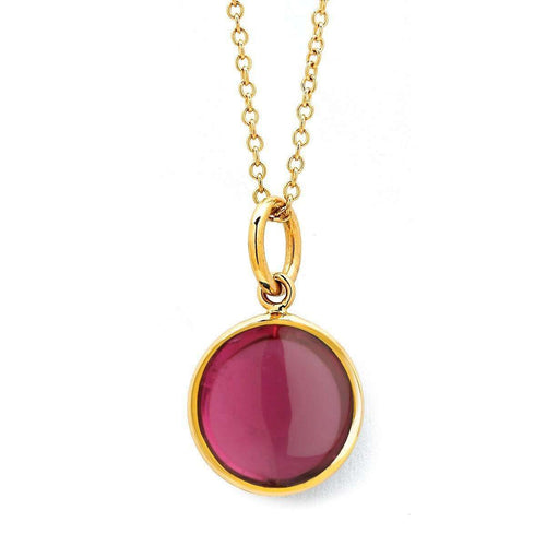18kt Rubelite Chakra Necklace-Syna-JewelStreet EU