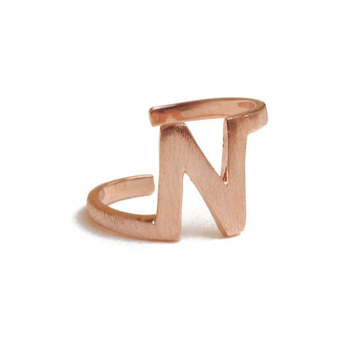 Alphabet - N Ring-ZLABA-JewelStreet EU