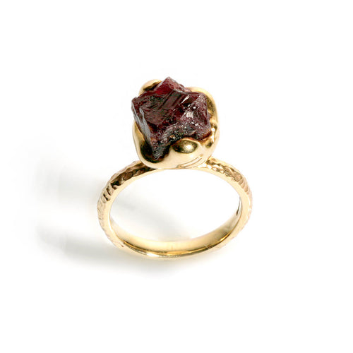 9kt Yellow Gold Ruby Sea Creatures Ring ,[product vendor],JewelStreet