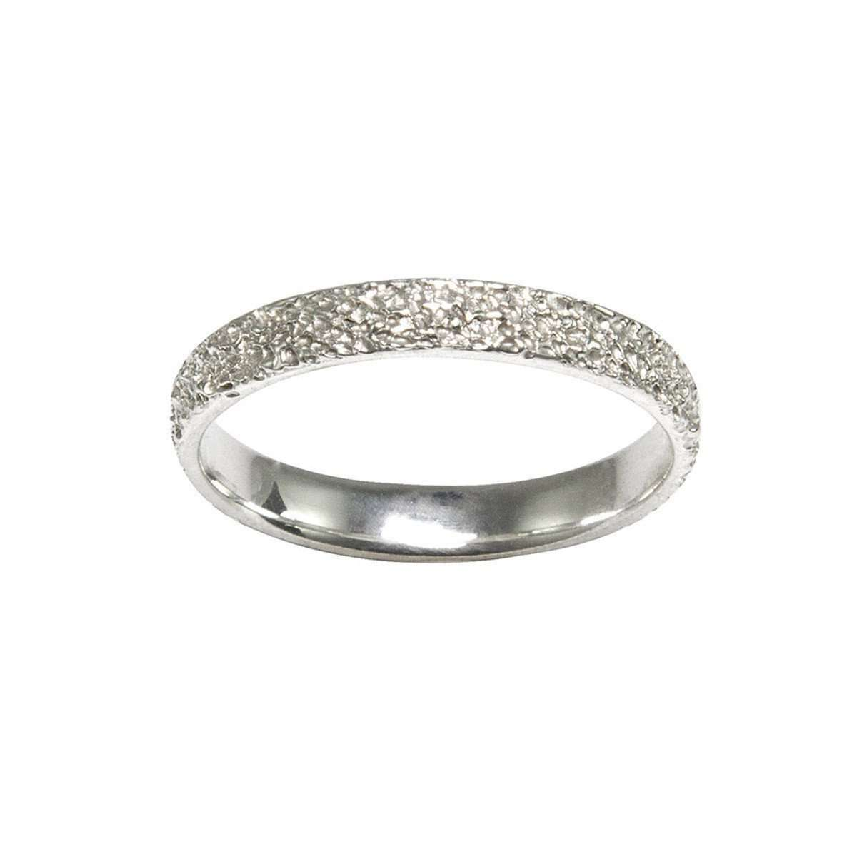 Fine Frost Sterling Silver Ring ,[product vendor],JewelStreet EU