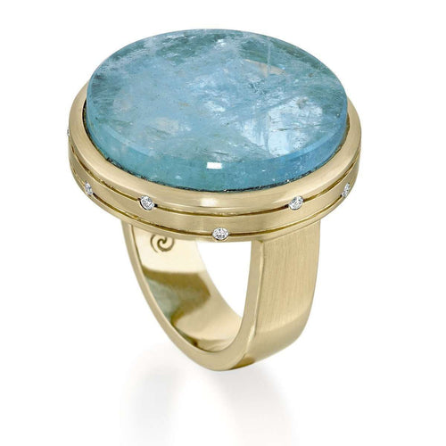 Colors of the Universe Water Planet Ring-Rose Carvalho-JewelStreet EU