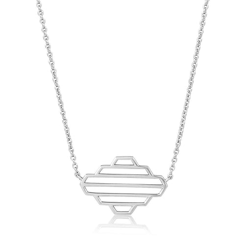 High Line Collection Necklace Silver ,[product vendor],JewelStreet