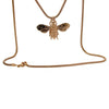 9kt Rose Gold Honey Bee Necklace