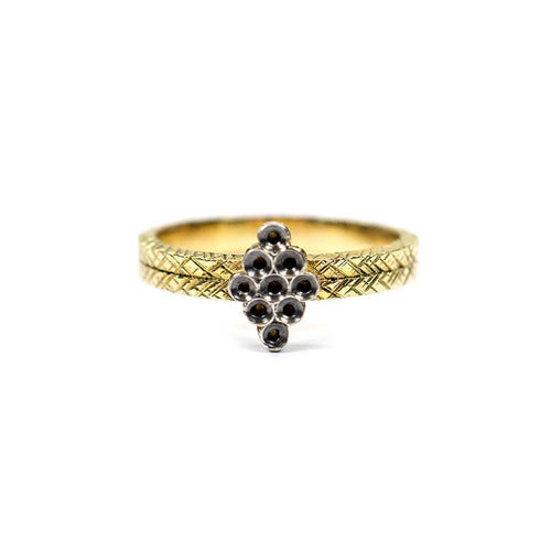 18kt Yellow Gold Celeste Ring