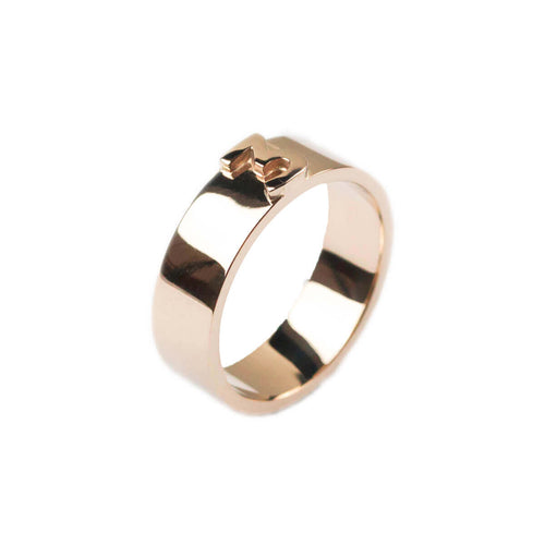14kt Rose Gold Classic Character Ring ,[product vendor],JewelStreet