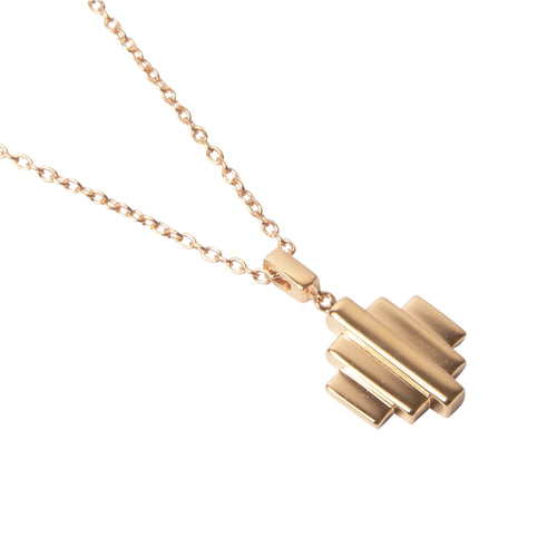 18kt Rose Gold Vermeil Baori One Pendant Necklace ,[product vendor],JewelStreet