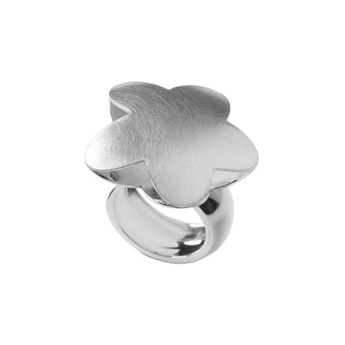 Étoile Chanceuse Ring In Silver-Jewellery Design Marie-Benedicte-JewelStreet EU