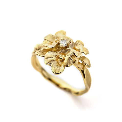 Florissimo Ring Yellow Gold-Ehinger Schwarz 1876-JewelStreet EU