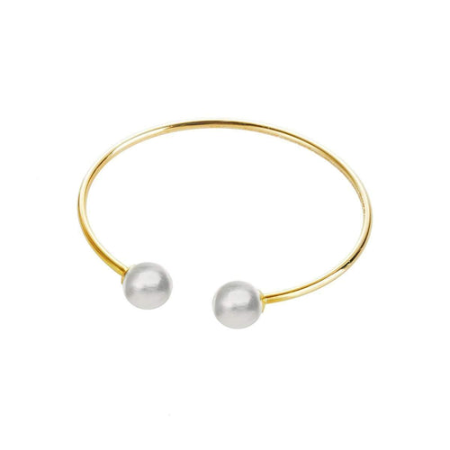 Galaxy Cuff - 18kt Gold and Fine Silver Spheres ,[product vendor],JewelStreet