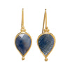 Fia Earrings With Blue Sapphire-India Mahon-JewelStreet EU