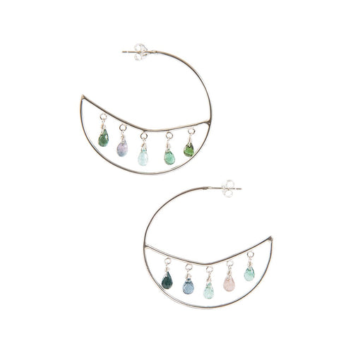 Jodhpuri Hoop Earrings-India Mahon-JewelStreet EU