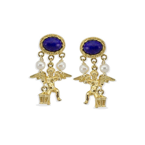 Cherubini Lapis Earrings