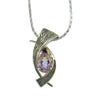 Ametrine Pendant Silver And Gold-Alex Gulko Custom Jewelry-JewelStreet EU