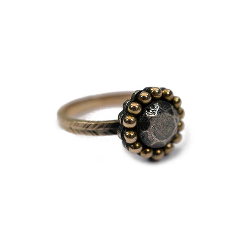 18kt Rose Gold Poppy Ring