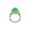 Chrysoprase Yellow Gold Ring-Alex Gulko Custom Jewelry-JewelStreet EU