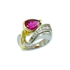 Pink Tourmaline Ring-Alex Gulko Custom Jewelry-JewelStreet EU