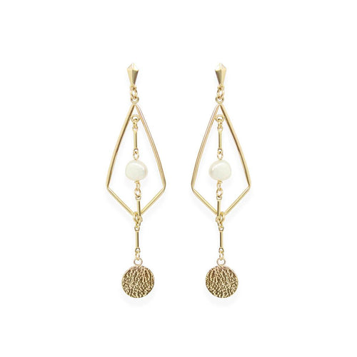 Yellow Gold Filled Ralph Earrings