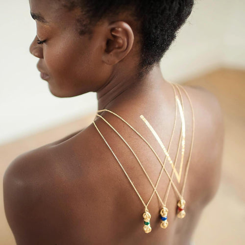 The Rhythm of Life Yellow Gold Necklace