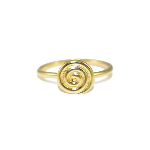 Yellow Gold Small Dizzy Ring